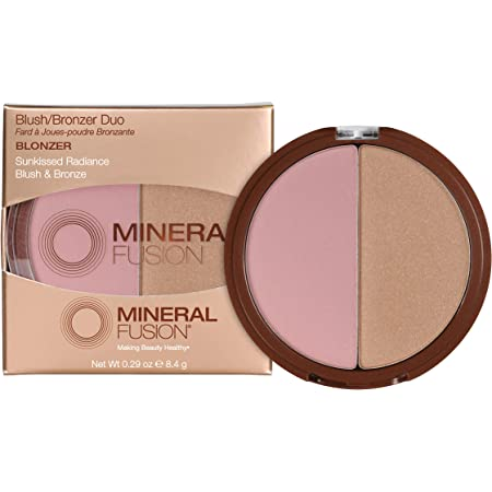 Mineral Fusion Blush or Bronzer Duo Blonzer, 0.29 Oz