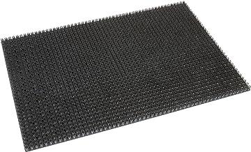 No Label - Synthetic Fibre Doormat Grey 60x40cm