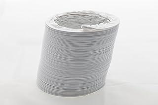 Abluftschlauch PVC flexibel Durchmesser 125/127 mm, 3 m z.B. für Klimaanlagen, Wäschetrockner, Abzugshaube