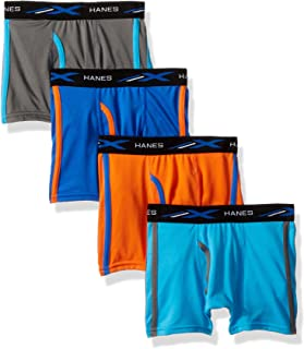 Boys' X-Temp Breathable Mesh Boxer Brief 4-Pack