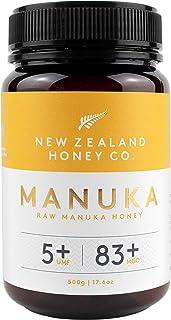 New Zealand Honey Co. Miel de Manuka MGO 83+ / UMF 5+ | Nueva Zelanda Miel 100% Pura y Saludable | 500g