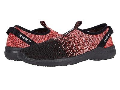 Speedo Surf Knit Pro (Black/Coral) Women