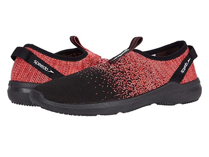 Speedo  Surf Knit Pro (Black/Coral) Womens Shoes