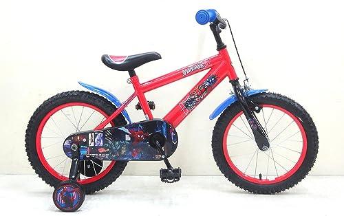 16 Zoll 16  Kinderfahrrad Kinder Disney Jungen Fahrrad Rad Marvel Spiderman Bike VOLARE