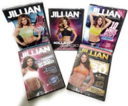 = The Ultimate Jillian Michaels Collection 5 DVD Set - Includes The Popular Over 1 Million Sold Ripped in 30