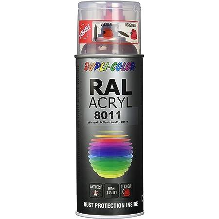 Dupli Color 710612 Acryl Spray 400 Ml Ral 9011 Graphitschwarz Glanz Auto