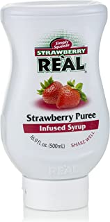 Real Strawberry Puree Infused Syrup, 500 ml