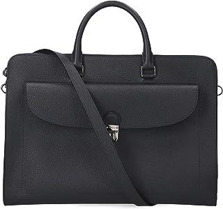 Tod's Men's XBMTUCP0300TNPU820 Blue Leather Briefcase