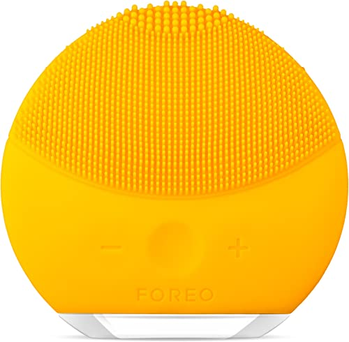 FOREO Luna Mini 2 Facial Cleansing Brush and Skin Care device made with Soft Silicone for Every Skin Type product image