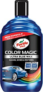 Turtle Wax Color Magic Ultra Shades of Blue New Formula Colored Car Polish Cleans