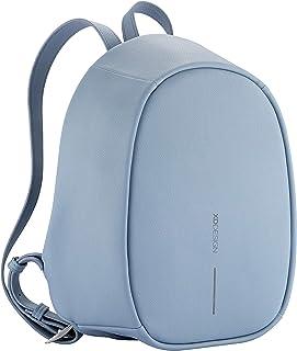 XD-Design Bobby Elle Fashion Anti-Theft Backpack with Hidden Zippers & Hidden Pockets (Light Blue)