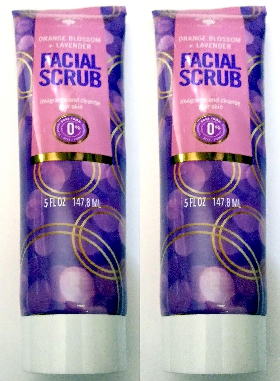 Facial Super intense SALE Scrub Orange Blossom + invigorate and Popular standard Cleanse Lavender y