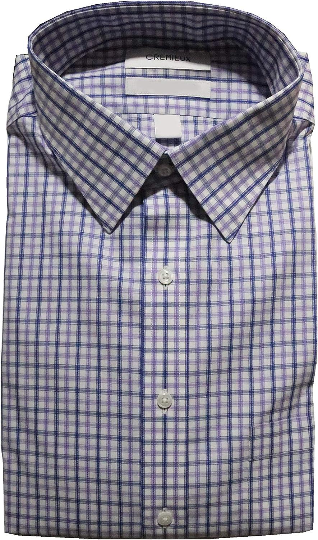 Cremieux Non Iron Genuine Classic Fit Check Spread Collar Shirt C1 San Jose Mall Dress