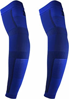 Ultra Compression Arm Sleeves (Pair) for Men and Women High Performance