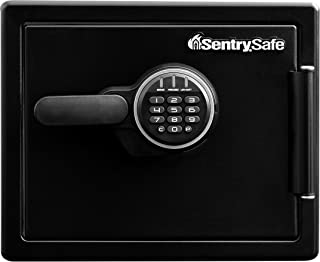 Sentry Safe SFW082ESB Fire Water Digital 22.8L Large Combination Safe with Digital Lock, Large