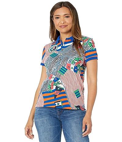LAUREN Ralph Lauren Print Pique Polo Shirt