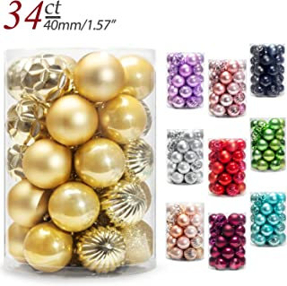Best silver and gold ball ornaments Reviews