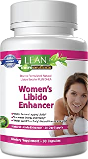 Lean Nutraceuticals Libido Enhancer for Women Md Formulated Libido Booster. Science Selected Ingredients Naturally Supplem...