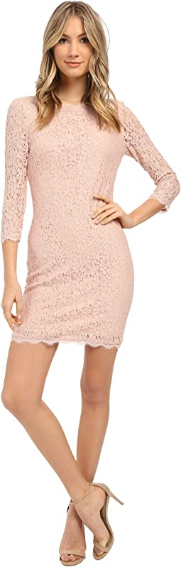 Adrianna Papell Cap Sleeve Lace Sheath Buff At 6pm Com