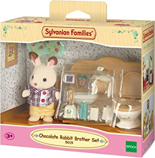 Sylvanian Families SF5015 SF - Chocolate Rabbit Brother Set