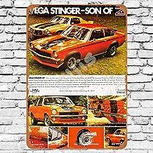Ellis 1971 Yenko Bort Vega Stinger Vintage Retro Metal Sign Wall Decor for Store Man Cave Bar Home Garage