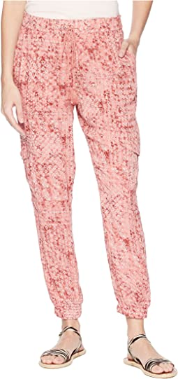 "Kylie ""Beach Batik"" Printed Pants"