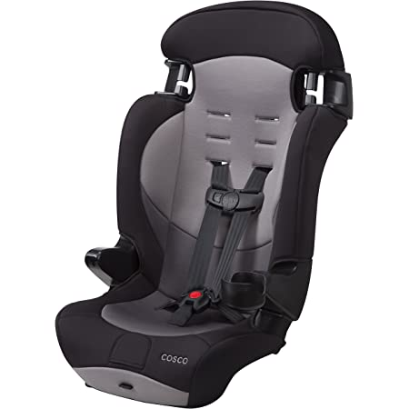 Cosco Finale DX 2-in-1 Combination Booster Car Seat (Dusk) 18.25x19x29.75 Inch (Pack of 1)