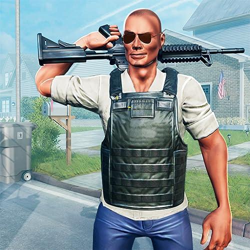 Auf Anruf Nachbar US Polizei Rettungsdienst Verbrechen Stadt Krimineller Fall 3D: Cops gegen Gangster Überleben Mission Aktion Abenteuer spannende Simulator Spiele kostenlos für Kinder 2018