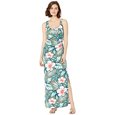 Tommy Bahama Flora Bora Maxi Tank Dress (Tea Leaf) Women