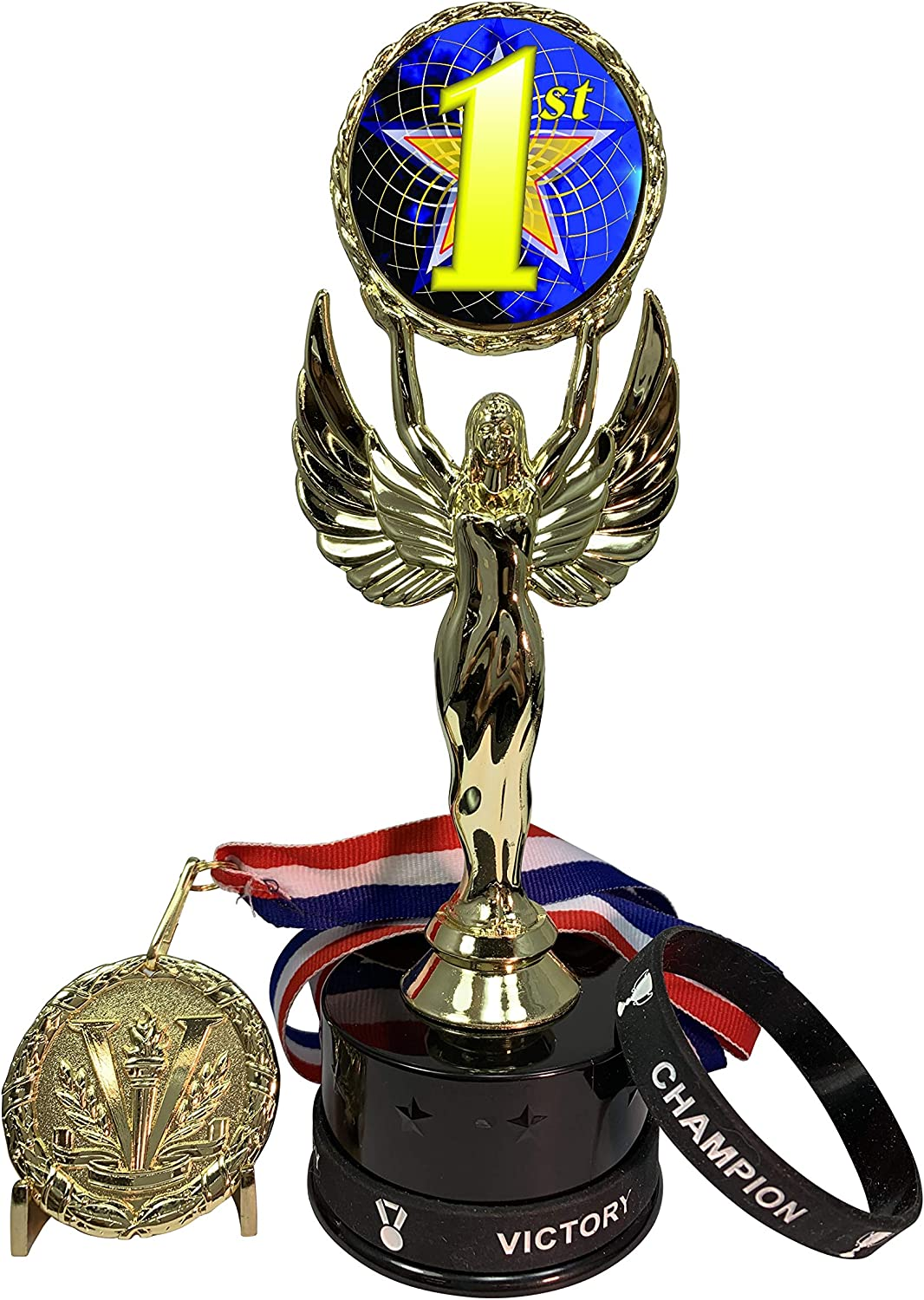 Express Medals 1 to 12 Packs of Inc That Max 69% OFF Place 1st Awards Trophy Sale Special Price