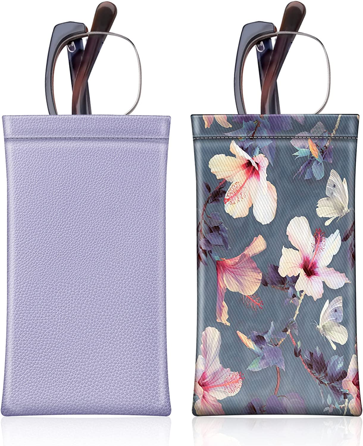 2 Pack Fintie Eyeglasses Pouch Portable S Cloth Limited price sale El Paso Mall with Cleaning