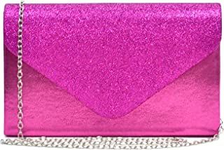 Women Evening Envelope Handbags Party Wedding Clutch Purses Shoulder Bags
