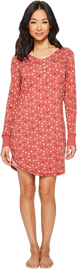 Aventura Clothing - Polka Dot Night Shirt