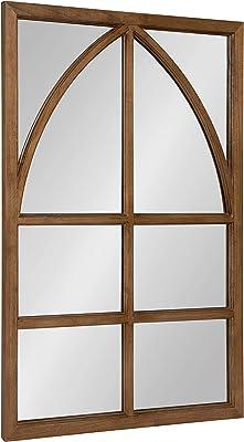 Amazon.com: My Swanky Home Carrefour Iron Mirror - 4 Panes ...