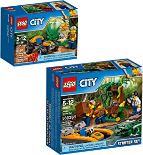 LEGO City Jungle Explorers Jungle Explorers Building Kit (141 Piece)
