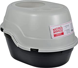 Nature's Miracle Top Entry Litter Pan, 25.5 x 8.8 x 20 inches