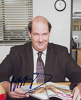 Brian Baumgartner signed autographed, The Office 8x10 photo. proof COA star
