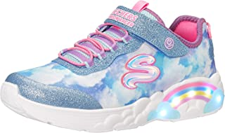 Skechers Unisex-Child Rainbow Racer Sneaker