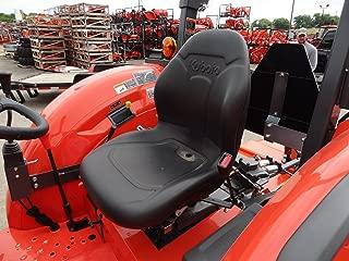 Durafit Seat Covers, KU20 Silver Leatherette Kubota Seat Covers for Tractor MX4800,MX5000, MX5200,MX 5800, M5660 SUH/SUHD, Z221R Mower Zero Turn Mower.