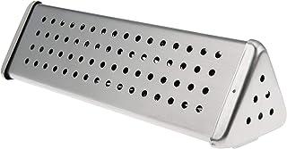 bremermann Röklåda i rostfritt stål ca. 6 x 21 cm grillning röklåda för rök arom