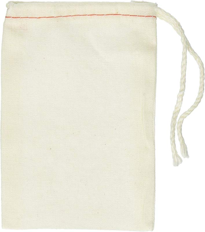 Cotton Drawstring Muslin Bags 3 X 5 Pack Of 25