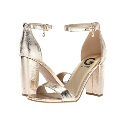 G by GUESS Shantel3 (Gold Glamour) High Heels