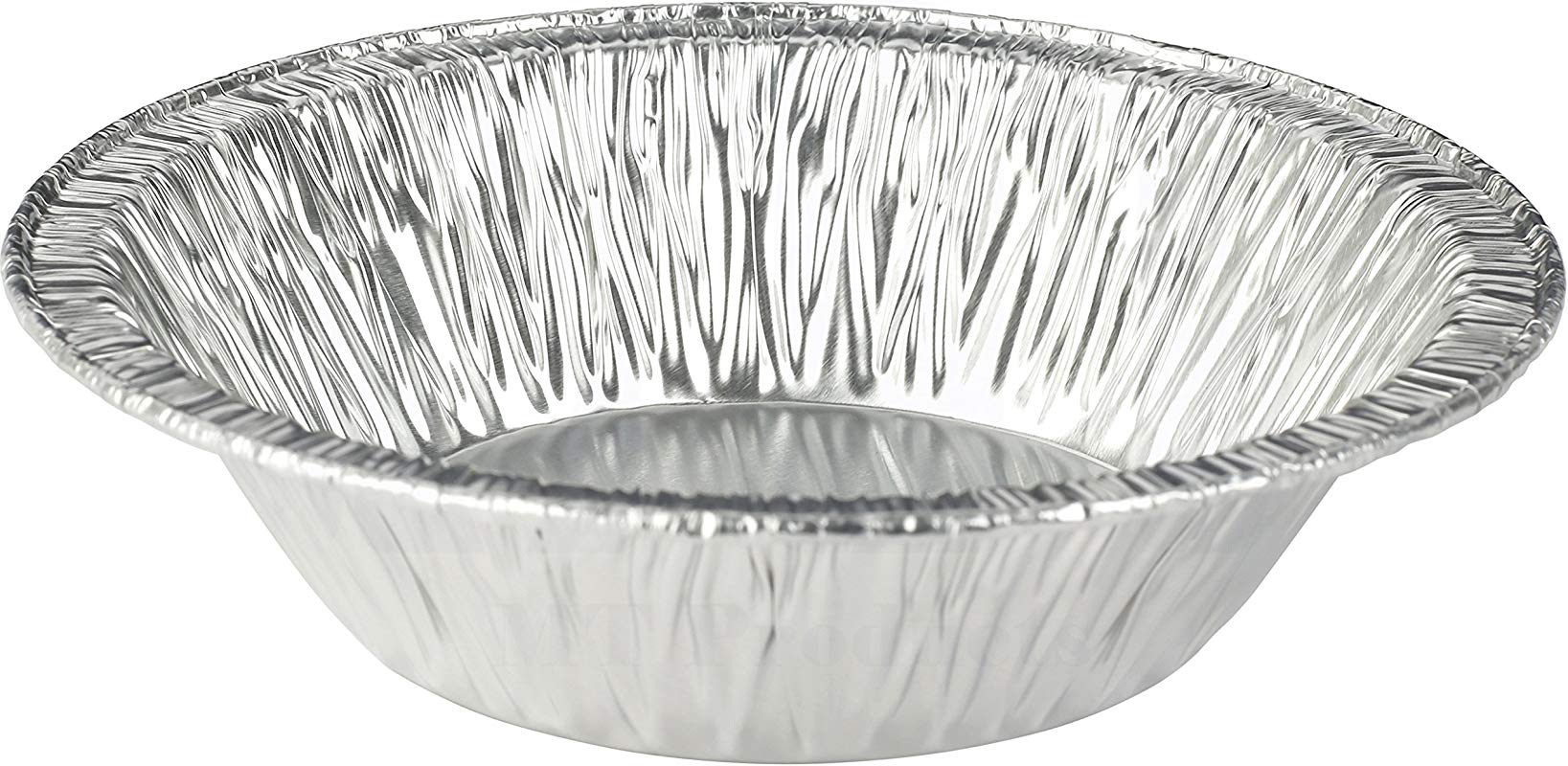 MT Products 5 Inch Disposable Aluminum Foil Tart Pie Pan 1 1 4 Deep 50 Pieces