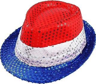 قبعة الاحتفالات للاحتفال بعيد الرابع من يوليو من هينريل باتريوتيك رتر، قبعة عيد الميلاد للرجال والنساء