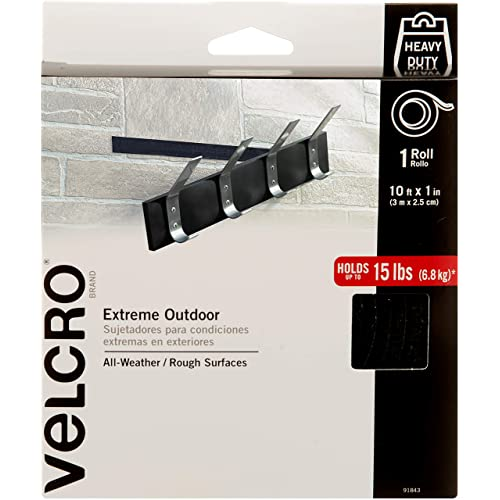 VELCRO Brand - Industrial Strength Extreme Outdoor | Heavy Duty, Superior Holding Power on Rough