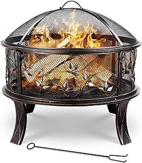 Feuerkorb XXL 66cm Grill Grillkorb Grillen Feuerschale Lagerfeuer Gartenfeuer