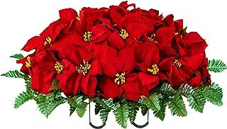 headstone christmas decorations