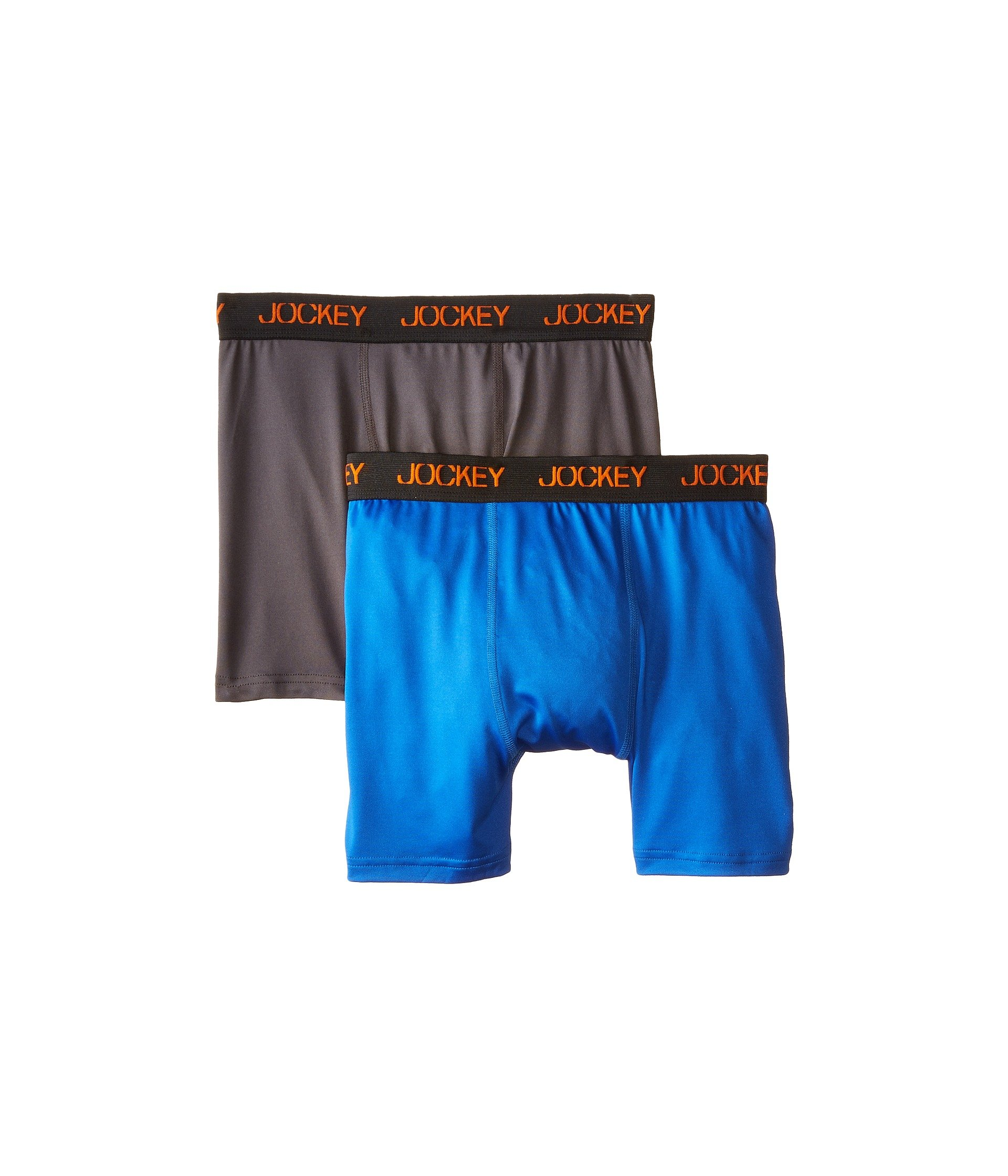 Ropa Interior para Niño Jockey Kids New 2-Pack Performance Boxer Brief (Little Kids/Big Kids)  + Jockey en VeoyCompro.net