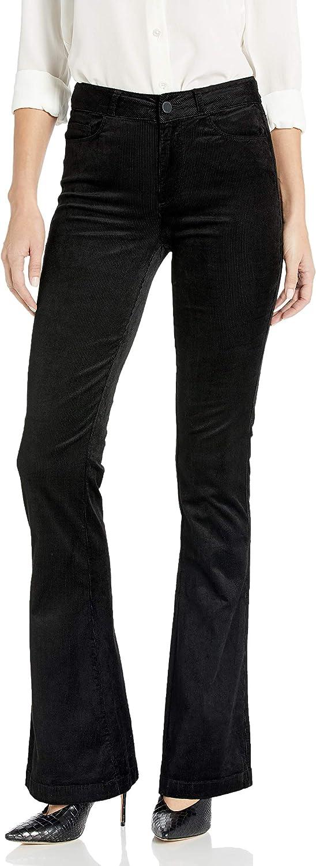 PAIGE Women's Lou High Rise Velvet Luxury goods Leg Max 90% OFF Jean Flare