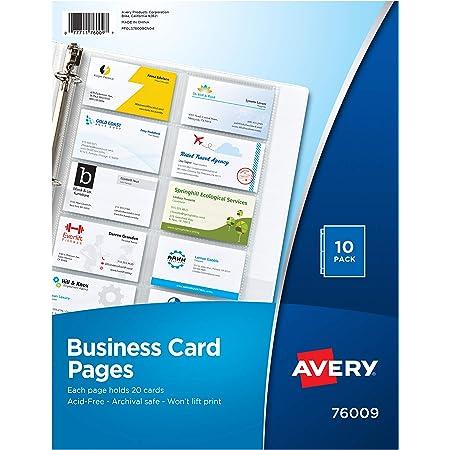 Veloflex 4152880 Business Card Holder Bureau Tissu pour reliure à anneaux Noir